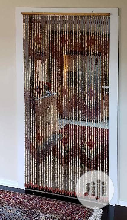 Beaded Wooden Curtain In Lagos Island, Beaded Curtains For Doors