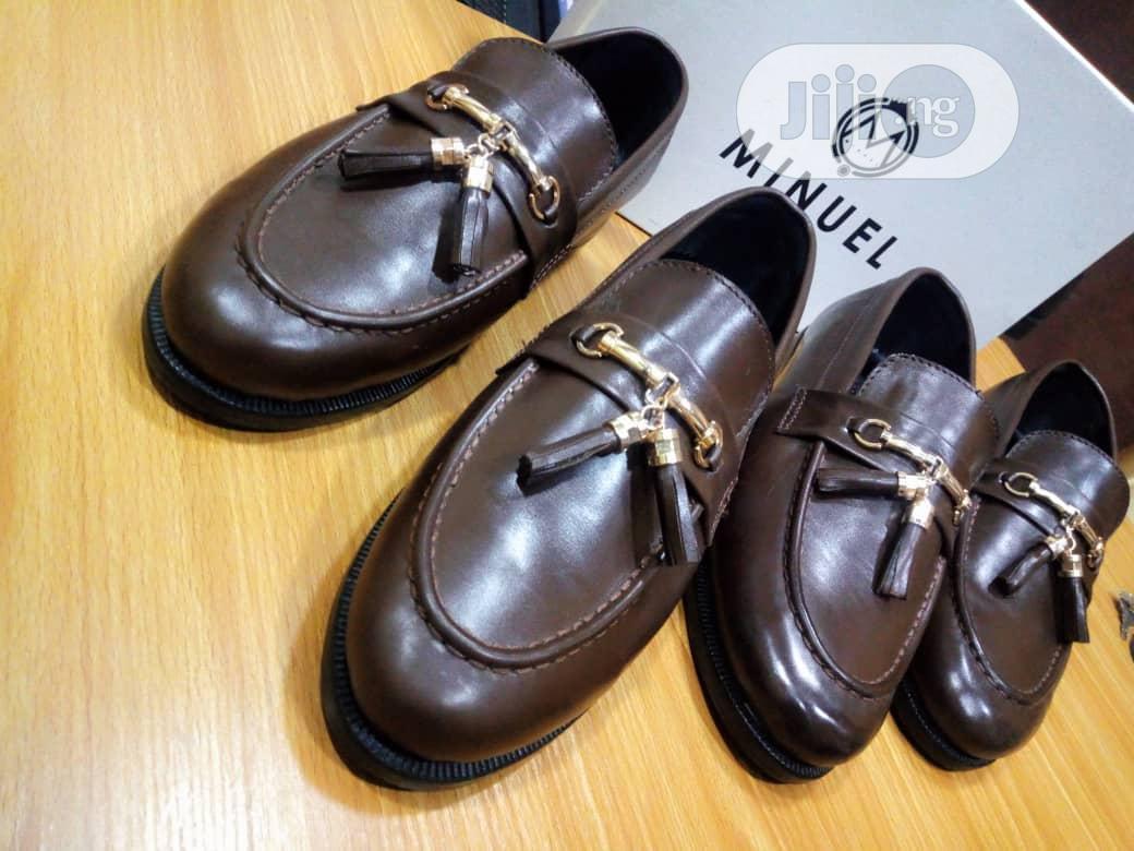 Coffee Brown Tassel Loafers