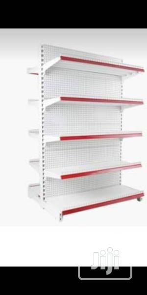 High Quality Double Sided Supermarket Peforated Display Shelving | Store Equipment for sale in Lagos State