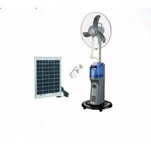 Rechargeable Mist Fan With Solar Panel | Solar Energy for sale in Lagos State, Ikorodu