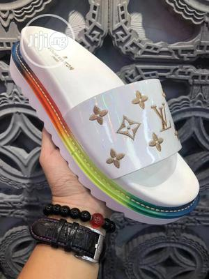Louis Vuitton Pam Slippers Swipe to Pick Your Preferred | Shoes for sale in Lagos State, Lagos Island (Eko)