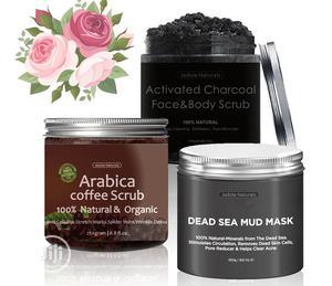 Arabica Coffee Scrub, Activated Charcoal, Dead Sea Mud Mask: 3in1 | Skin Care for sale in Lagos State, Amuwo-Odofin
