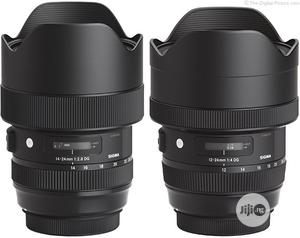 Sigma Art Lens 14-24 Full Frame 2.8 | Accessories & Supplies for Electronics for sale in Lagos State, Alimosho