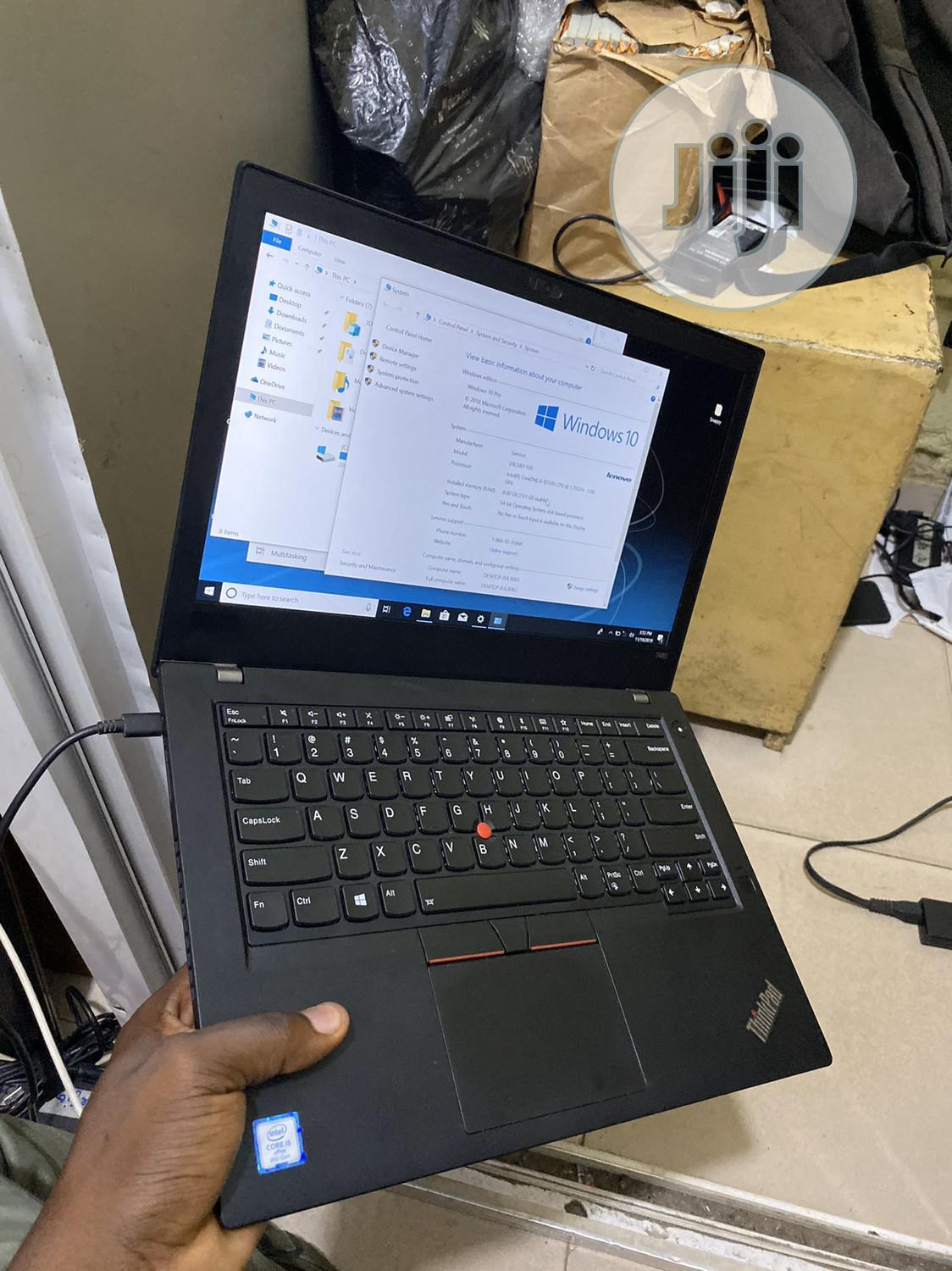 Laptop Lenovo ThinkPad T480 4GB Intel Core i5 HDD 500GB   Laptops & Computers for sale in Ikeja, Lagos State, Nigeria