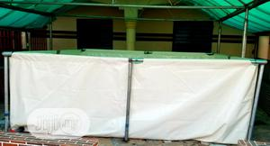 Mobile Tarpaulin Fish Ponds With Galvanized Metal Stands. | Farm Machinery & Equipment for sale in Delta State, Ugheli