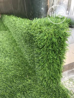 Spot The Edge Of Our Quality Artificial Grass Rugs | Garden for sale in Lagos State, Alimosho