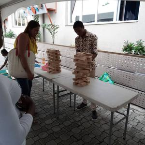 Jenga Game For Rent   Books & Games for sale in Lagos State, Ikoyi