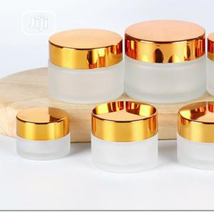 Beautiful Cream Soap Containers | Manufacturing Materials for sale in Lagos State, Amuwo-Odofin