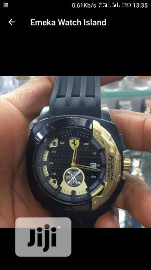 Ferrari Water Resistant Men Watch   Watches for sale in Lagos State, Lekki
