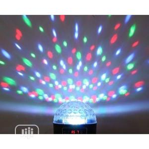 Mini LED Crystal Magic Ball Disco DJ Stage Light | Stage Lighting & Effects for sale in Lagos State, Ojo