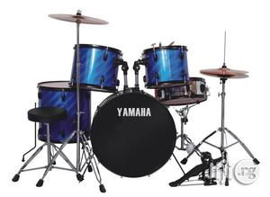 YAMAHA BLUE 5 Piece Drum Set | Musical Instruments & Gear for sale in Lagos State, Ojo