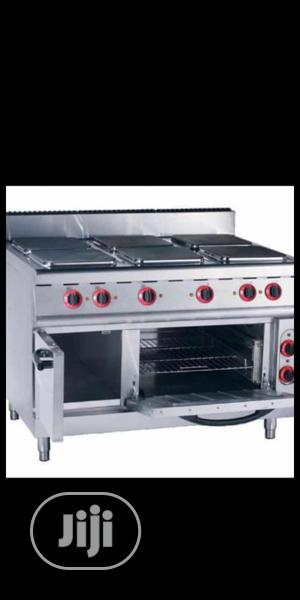 6birners Electric Cooker With Oven. Industrial Electric Oven | Restaurant & Catering Equipment for sale in Lagos State, Ojo