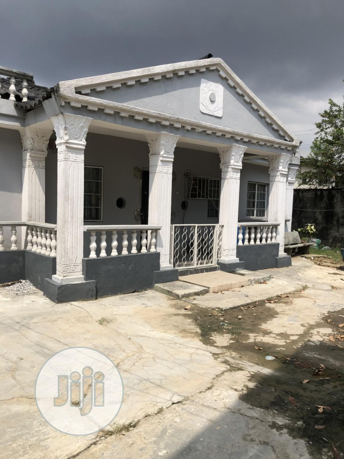 Well Finish 3bedroom Bungalow With Pop on a Half Plot in Surulere 22m