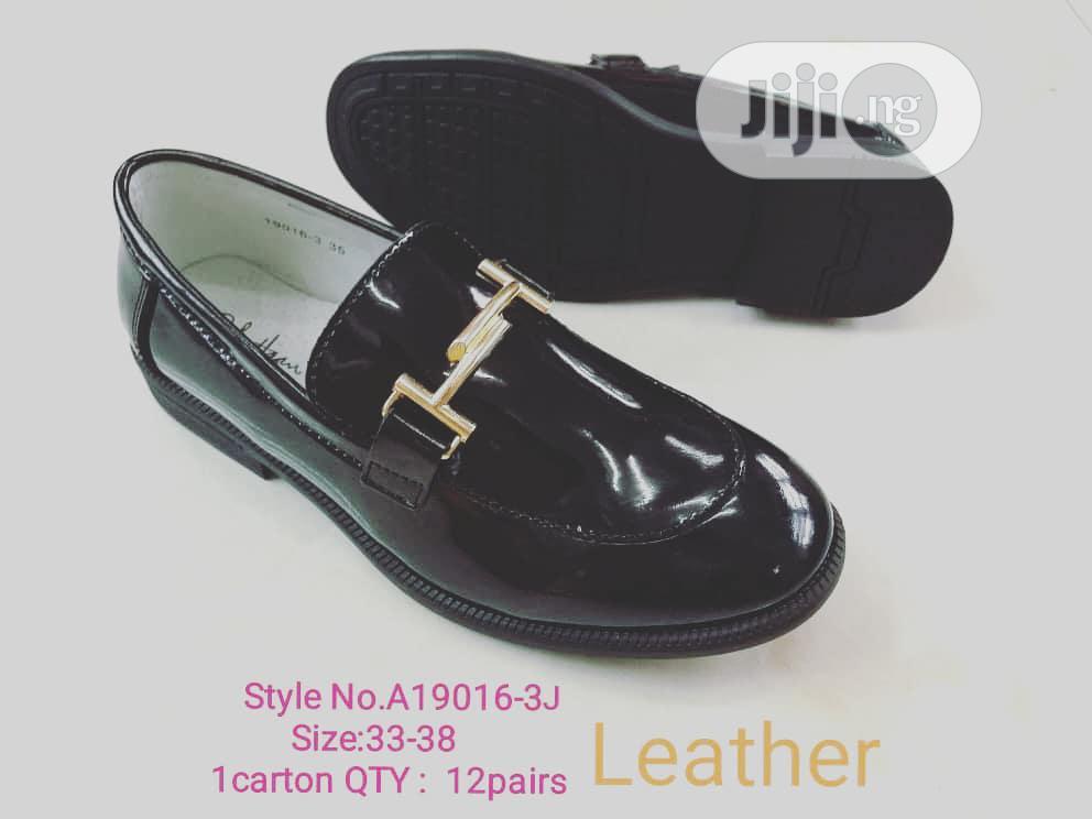 Black Gloss Dress Shoes
