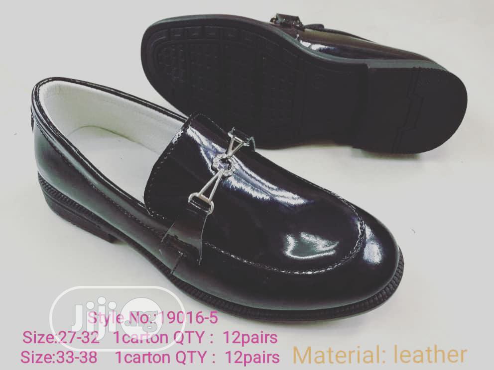 Black Gloss Dress Shoes   Children's Shoes for sale in Lagos Island (Eko), Lagos State, Nigeria