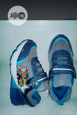 Blue Paw Patrol Canvas Sneakers | Children's Shoes for sale in Lagos State, Lagos Island (Eko)