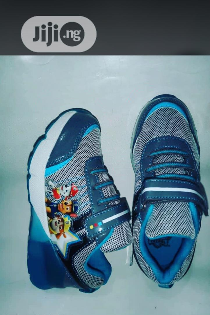 Blue Paw Patrol Canvas Sneakers