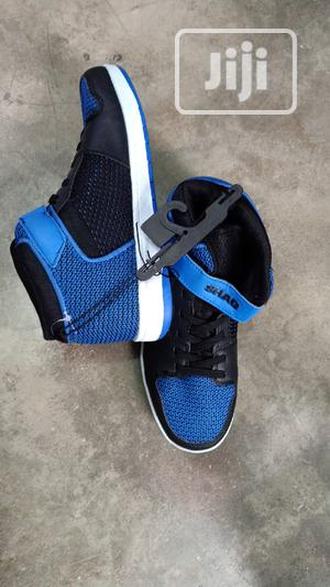 Blue and Black Canvas Sneakers Available in Size 38 | Children's Shoes for sale in Lagos State, Lagos Island (Eko)