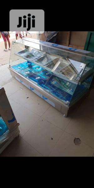 Food Warmer Showcase. Bain Marie. Brand New 15plates | Restaurant & Catering Equipment for sale in Edo State, Irrua