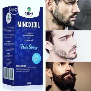 Teemu Premium Minoxidil - Effective Beard, Hair & Chest Growth Oil   Hair Beauty for sale in Abuja (FCT) State, Karu