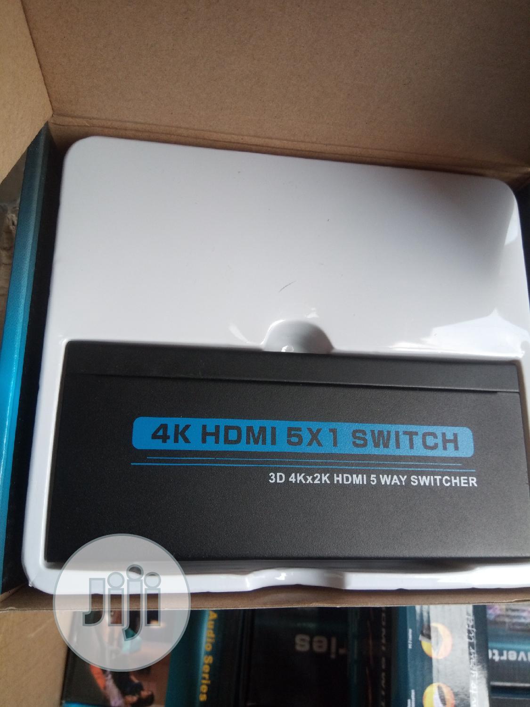 4k Hdmi 5×1 Switch