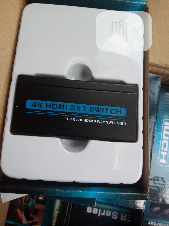 4k Hdmi 3×1 Switch