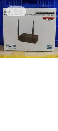 HDMI 100m Wireless Extender Wifi Transmitter 1080P | Networking Products for sale in Lagos State, Ikeja