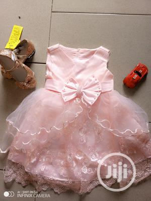Little Princess Sleeveless Lacy Dress | Children's Clothing for sale in Lagos State, Surulere