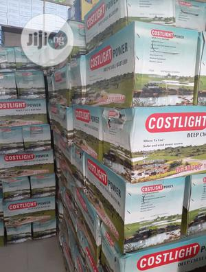 200ah 12v COSTLIGHT Solar Battery Available With 1yr Warranty | Solar Energy for sale in Lagos State, Ojo