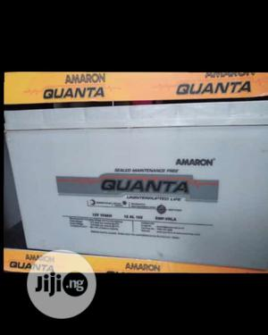 200ah, 12v Quanta Amaron Battery Available With 1yr Warranty | Solar Energy for sale in Lagos State, Ojo