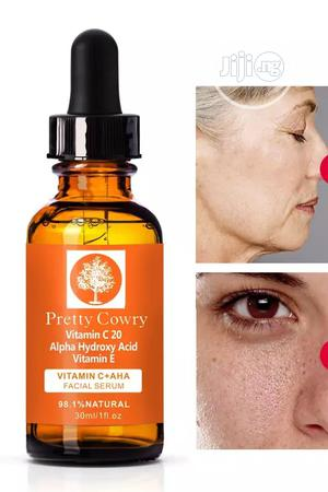 Pretty Cowry Vitamin C Ant-aging Facial Serum   Vitamins & Supplements for sale in Abuja (FCT) State, Jikwoyi