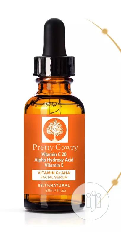 Pretty Cowry Vitamin C Ant-aging Facial Serum   Vitamins & Supplements for sale in Jikwoyi, Abuja (FCT) State, Nigeria