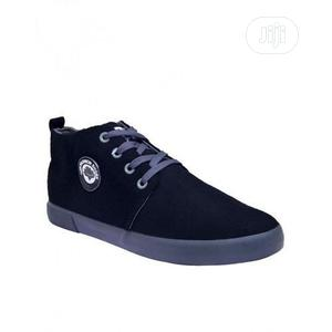 Hzb Casual High Top Sneaker-Black   Shoes for sale in Lagos State, Lagos Island (Eko)
