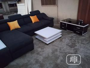 New ,L Shape Design .Tv Stand and Center Table | Furniture for sale in Lagos State, Alimosho