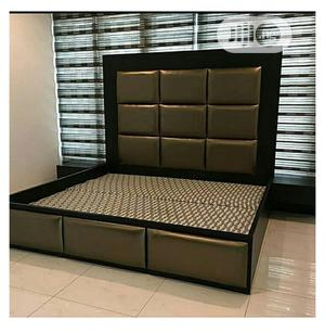 Bed Frames Gold | Furniture for sale in Lagos State, Mushin