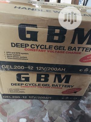 200ah 12v GBM Battery Available With 1yr Warranty | Solar Energy for sale in Lagos State, Ojo