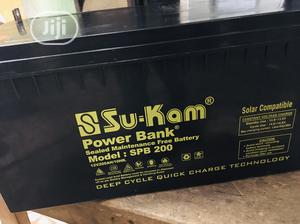 200ah 12v SUKAM Battery Available With 1yr Warranty | Solar Energy for sale in Lagos State, Ojo