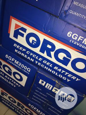200ah 12v FORGO Battery Battery Available With 1yr Warranty | Solar Energy for sale in Lagos State, Lekki