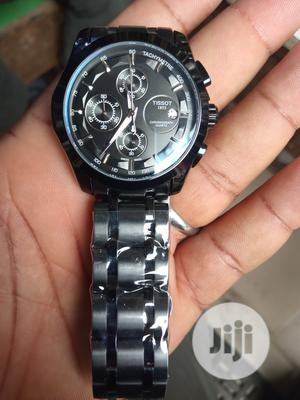 Tissot Men's Black Wristwatch | Watches for sale in Lagos State, Surulere