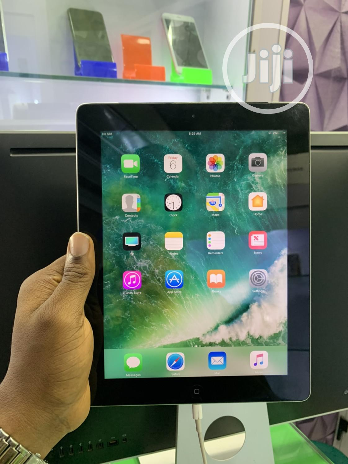 Apple iPad 4 Wi-Fi + Cellular 16 GB Silver | Tablets for sale in Ikeja, Lagos State, Nigeria