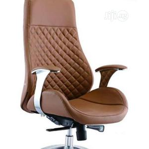 Quality Brown Leather Executive Office Chair | Furniture for sale in Lagos State, Yaba