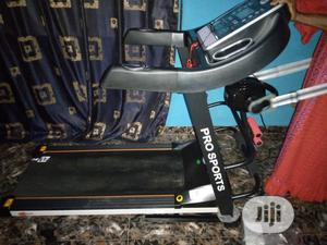 2hp Treadmill With Massager Aerobic Dumbbell and Twister | Sports Equipment for sale in Lagos State, Surulere