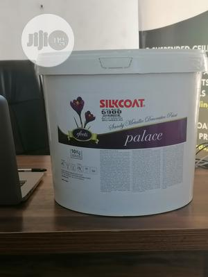 Silkcoat Palace Paint 3kg Silver   Building Materials for sale in Abuja (FCT) State, Dei-Dei