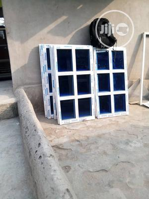 Sliding Windows With 5mm Blue Glasse | Windows for sale in Lagos State