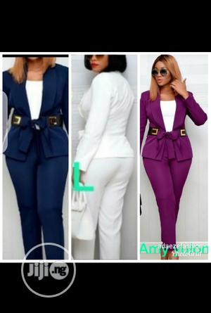 Ladies Cooperate Jacket and Trousers   Clothing for sale in Lagos State, Ikeja
