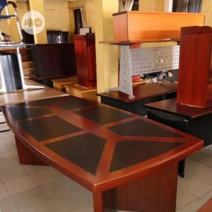 Prime Quality Wooden Conference Table   Furniture for sale in Lagos State, Victoria Island