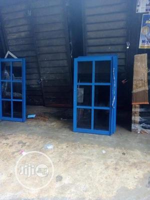 Nice Blue Aluminum Sliding Windows | Windows for sale in Lagos State