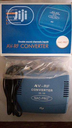 AV To RF Converter   Accessories & Supplies for Electronics for sale in Akwa Ibom State, Uyo