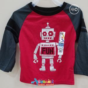 Garanimals Toddler Boy Longsleeve Red Shirts   Children's Clothing for sale in Lagos State, Alimosho