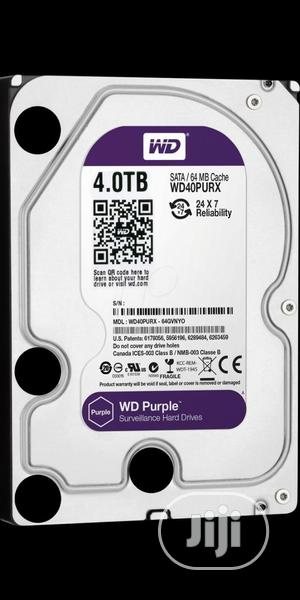 4tb HDD Purple Survellance   Computer Hardware for sale in Lagos State, Ikeja